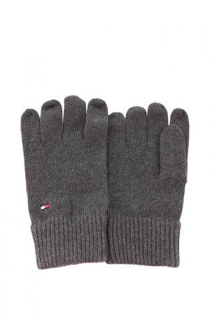 Перчатки Tommy Hilfiger. Цвет: 0g5, dark grey melange