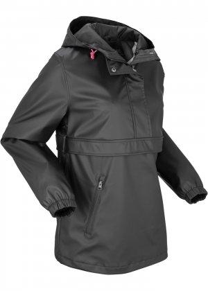 Функциональная куртка-дождевик bonprix. Цвет: черный