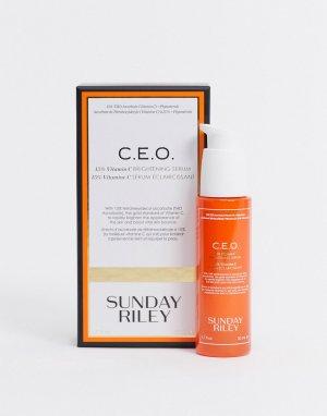 Осветляющая сыворотка CEO 15% с витамином C, 50 мл-Очистить Sunday Riley