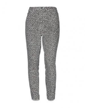 Джинсовые брюки CURRENT/ELLIOTT. Цвет: хаки