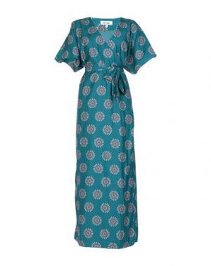 Длинное платье DRY LAKE.. Цвет: зеленый