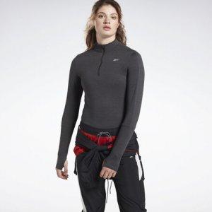 Олимпийка Running Essentials Reebok. Цвет: black