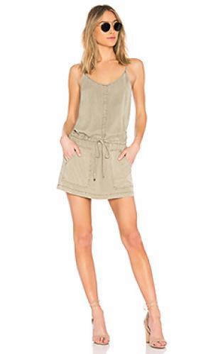 Платье raelynn YFB CLOTHING. Цвет: серовато-зеленый
