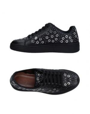 Низкие кеды и кроссовки ALAÏA. Цвет: черный