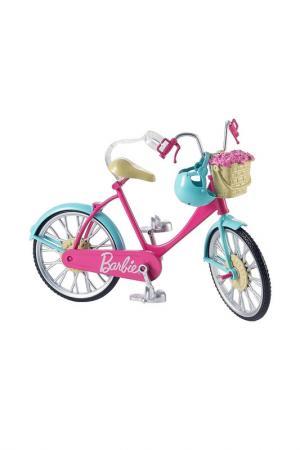 Велосипед для куклы Барби Barbie. Цвет: бордовый