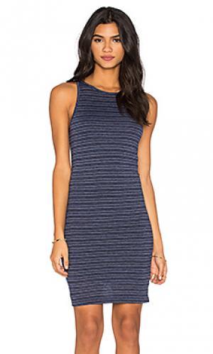 Платье-майка brandy Nation LTD. Цвет: синий
