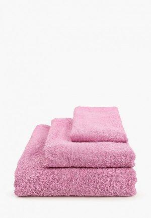 Набор полотенец HappyFox. Цвет: фиолетовый