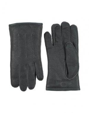Перчатки PARAJUMPERS. Цвет: свинцово-серый