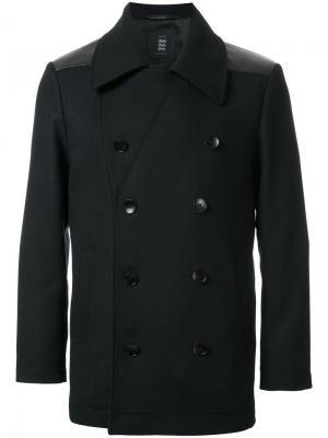 Двубортный пиджак Kent & Curwen. Цвет: черный