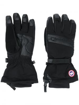 Перчатки три в одном Northern Utility Canada Goose. Цвет: черный