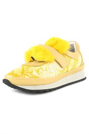 Кроссовки Grand Style. Цвет: желтый