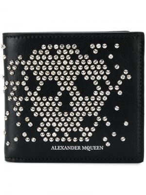 Бумажник с заклепками Skull Alexander McQueen