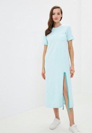Платье Xarizmas. Цвет: бирюзовый