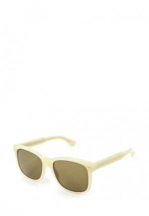 Очки солнцезащитные Gucci GU641DMNKX64. Цвет: бежевый