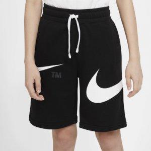 Шорты для мальчиков Sportswear Swoosh, размер 158-170 Nike. Цвет: черный