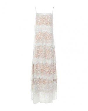 Длинное платье ANIYE BY. Цвет: слоновая кость