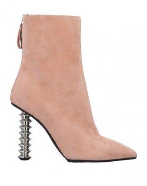 Полусапоги и высокие ботинки PREMIATA. Цвет: светло-розовый