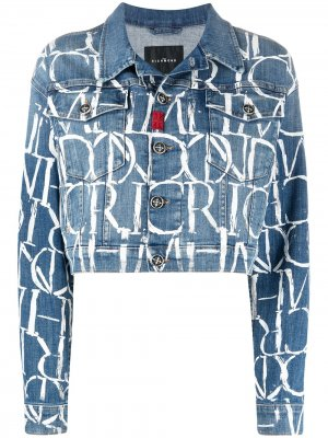 Джинсовая куртка Alcona John Richmond. Цвет: синий