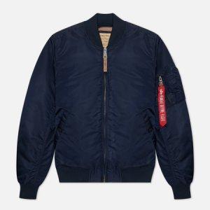 Мужская куртка бомбер MA-1 VF 59 Alpha Industries. Цвет: синий