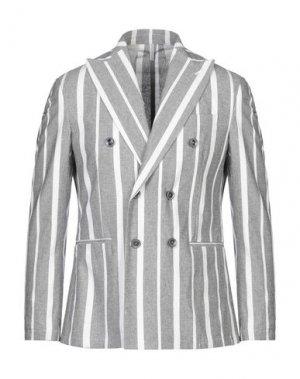 Пиджак MR MASSIMO REBECCHI. Цвет: серый