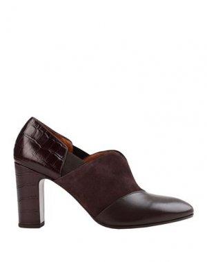 Ботинки CHIE MIHARA. Цвет: темно-коричневый