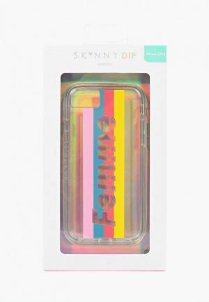 Чехол для iPhone Skinnydip 6/6s/7/8 Femme. Цвет: прозрачный