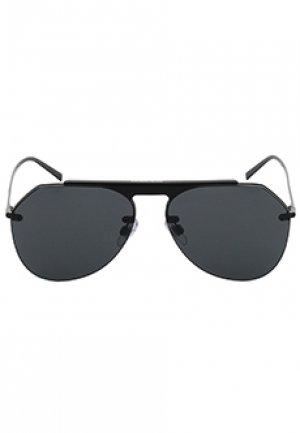 Очки DOLCE&GABBANA sunglasses. Цвет: черный