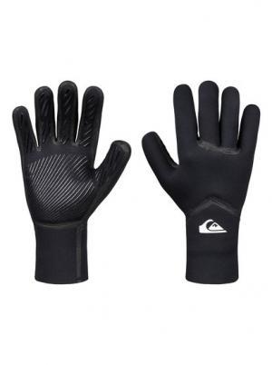 Неопреновые перчатки 3mm Syncro Plus - Черный Quiksilver. Цвет: черный