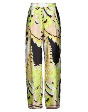 Повседневные брюки ANNARITA N. Цвет: кислотно-зеленый