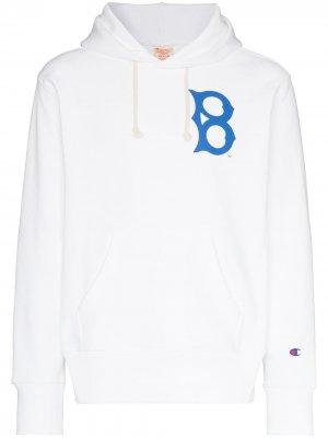 Худи из коллаборации с Brooklyn Dodgers™ Champion. Цвет: белый