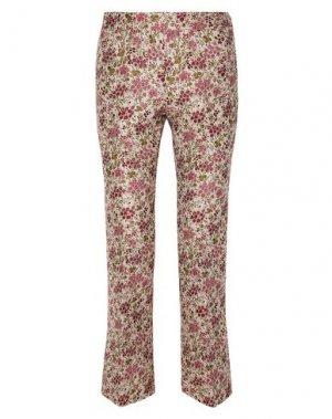 Повседневные брюки GIAMBATTISTA VALLI. Цвет: слоновая кость
