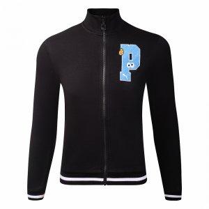 Sesame Street Sweat Jacket Puma. Цвет: черный