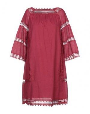 Короткое платье ALPHA STUDIO. Цвет: пурпурный