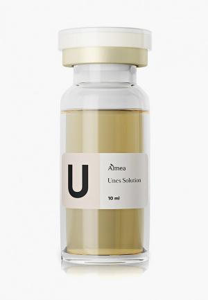 Сыворотка для лица Almea UNES SOLUTION. Мезококтейль с арбутином.. Цвет: прозрачный