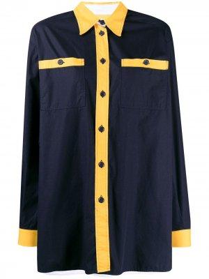 Рубашка 1980-х годов Tweety Bird JC de Castelbajac Pre-Owned. Цвет: синий