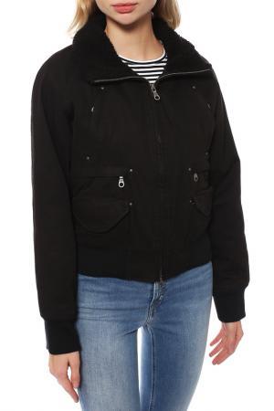 Куртка Firetrap. Цвет: черный