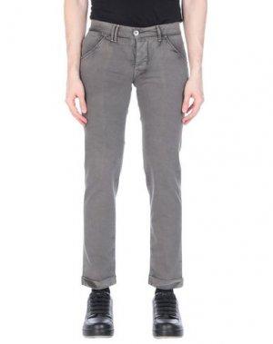 Повседневные брюки CYCLE. Цвет: голубиный серый