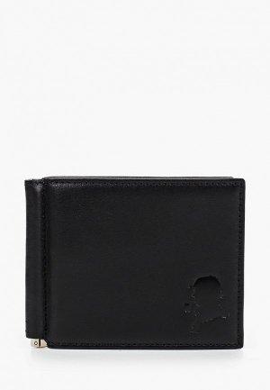 Зажим для купюр D.Morelli. Цвет: черный