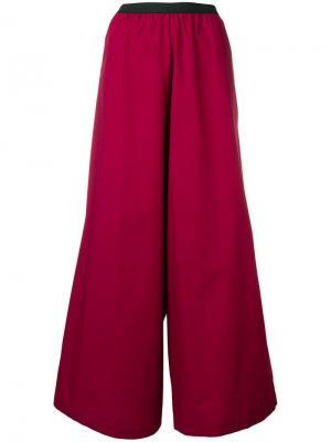 Расклешенные широкие брюки Antonio Marras