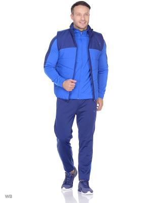 Жилет ESS Padded Vest PUMA. Цвет: голубой, синий