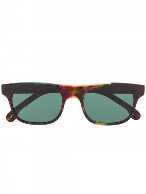 Солнцезащитные очки Bernard Paul Smith. Цвет: черный