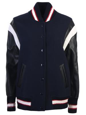 Куртка-бомбер с аппликацией STELLA MCCARTNEY