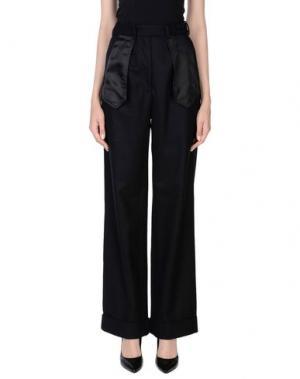 Повседневные брюки MARIOS. Цвет: черный