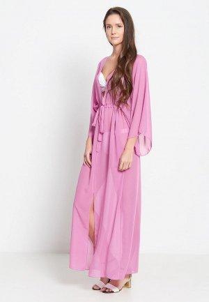 Платье пляжное Donatello Viorano Сиракузы. Цвет: розовый