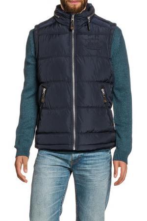 Vest Tom Tailor. Цвет: navy