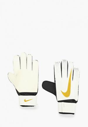 Перчатки вратарские Nike NK GK MATCH-FA18. Цвет: белый