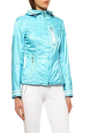 Куртка спортивная Bogner. Цвет: бирюзовый, белый