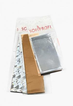Набор для дизайна ногтей Sofiprofi из фольги  (3 шт) №91. Цвет: разноцветный