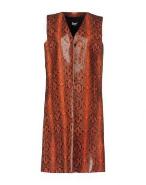 Пальто AU JOUR LE. Цвет: ржаво-коричневый