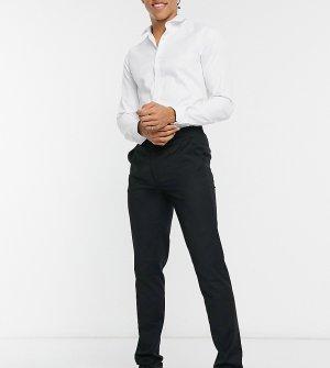 Зауженные костюмные брюки на высокий рост (подходят к смокингу) -Черный Devils Advocate